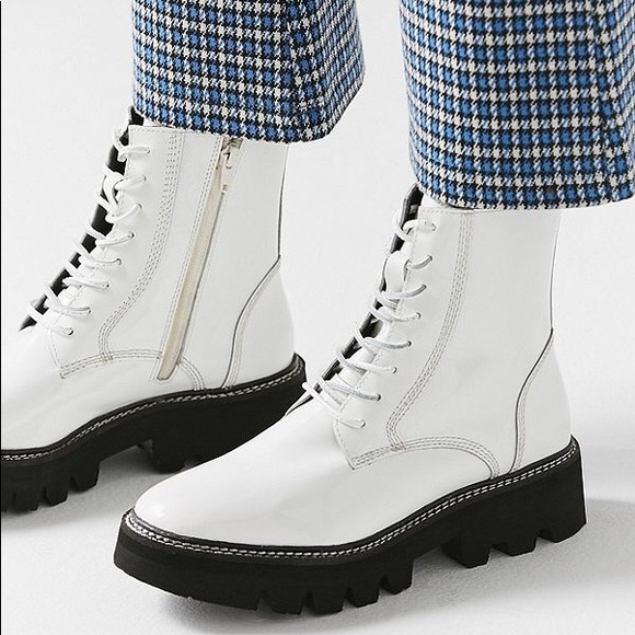 989fa4ec6 Jeffrey Campbell Shoes - JEFFREY CAMPBELL | Agira White Combat Boots